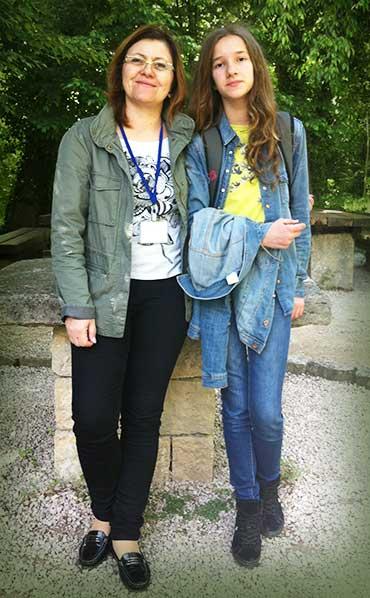Elena s mentoricom