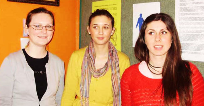 Volonterke Monika, Matea i Karolina