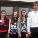 Naše novinarke s Lukom  Stilinovićem