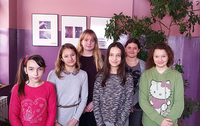 Lana Živković, Iva Žbura, Lucija španić, Ema Šišmanović, Ema Berišić, Lucija Lubičić