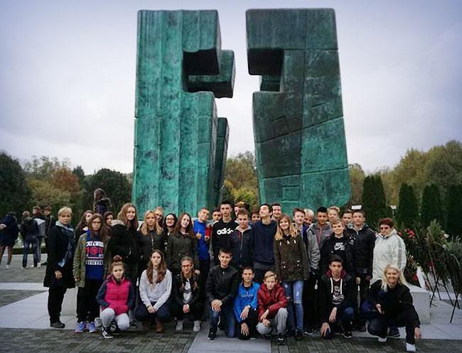Posjet osmih razreda Vukovaru
