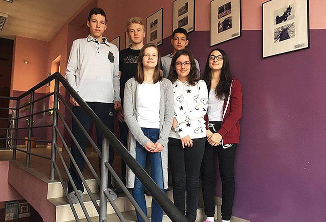 Borna, Goran, Darko, Laura, Corina, Lucija