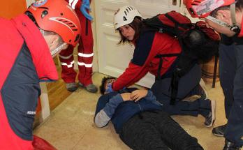 Prva pomoć-vježba spašavanja