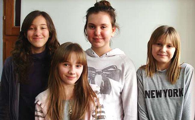 Petra s prijateljima
