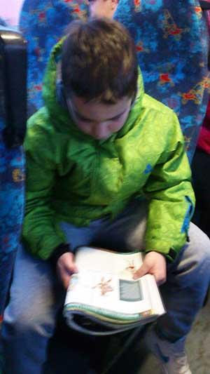 Učenje u autobusu