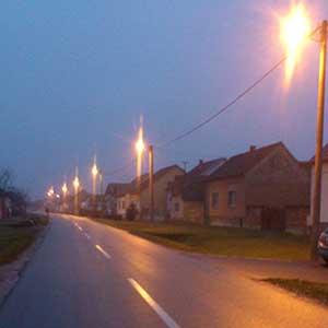 Selo u sumrak