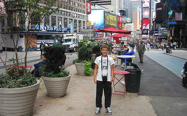 Mihovil na ulicama New Yorka