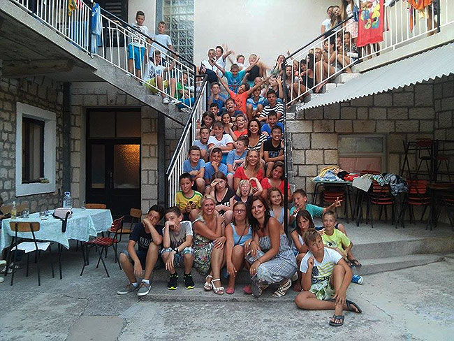 Zajednička fotografija iz odmarališta